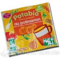 Sopa de calabaza de sobre ecológica Natali