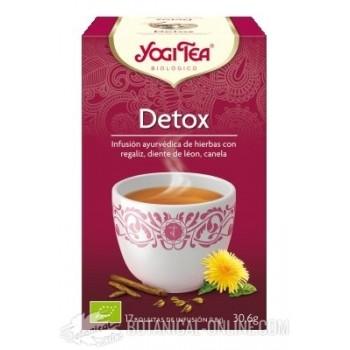 Propiedades Infusiones Detox Yogi Tea