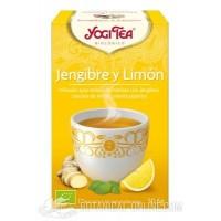 Infusión Jenjibre y Limón Yogi Tea
