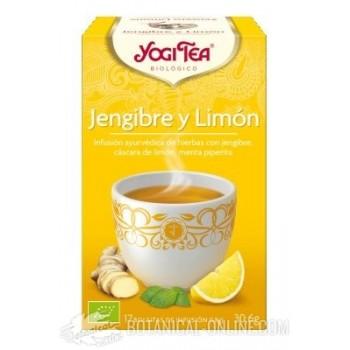 Propiedades Jengibre Limón Yogi Tea