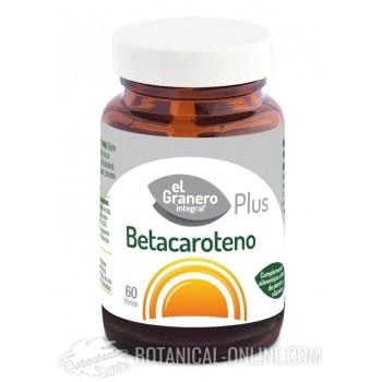Comprar Betacaroteno 60 perlas - Propiedades