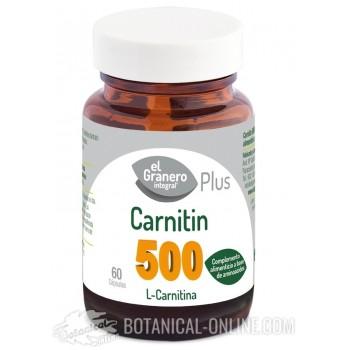 Comprar L-Carnitina 60 comprimidos - Propiedades