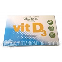Suplemento de Vitamina D en comprimidos
