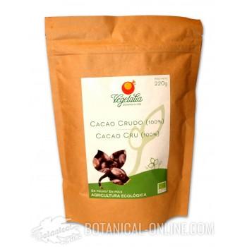 Propiedades y comprar Cacao en polvo crudo ecológico