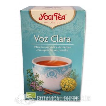 Propiedades infusión Throat Comfort Yogi Tea