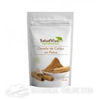 Canela de Ceilán ecológica 125gr de SaludViva