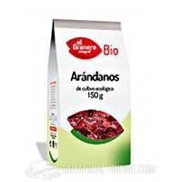 Arandanos ecológicos fruta seca 150gr. El Granero
