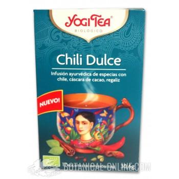 Propiedades infusión Chili Dulce Yogi Tea