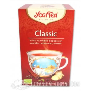 Propiedades y composición Classic Chai Yogi Tea
