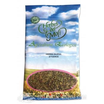 Propiedades y comprar hojas de hierbabuena bio para infusiones