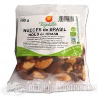 Nueces de Brasil ecológicas 100gr. Vegetalia