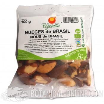 Comprar nueces del Brasil ecológicas crudas sin sal