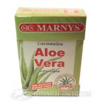 Caramelos de Aloe Vera sin azúcar Marnys