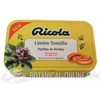 Caramelos de Limón y Tomillo Ricola