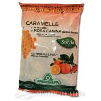 Caramelos de Própolis purificado y Rosa canina Specchiasol