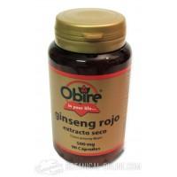 Ginseng coreano rojo 90 cápsulas Obire