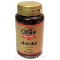 Shiitake 350mg 90 cápsulas Obire