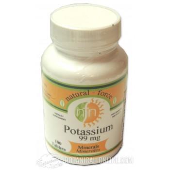 Comprar Potasio 100 comprimidos