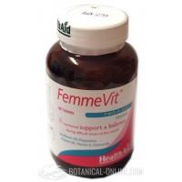 Femme Vit 60 comprimidos menstruación HealthAid