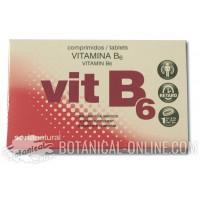 Suplemento de Vitamina B6 en comprimidos