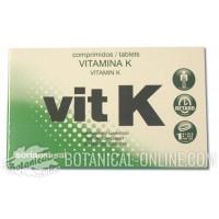 Suplemento de vitamina K en comprimidos