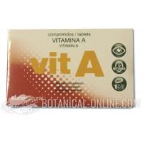 Suplemento de vitamina A en comprimidos