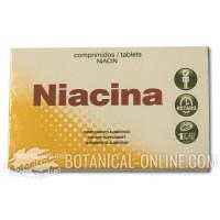Suplemento de Niacina (vitamina B3) comprimidos