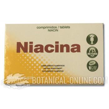 Suplemento de niacina o vitamina B3 - Propiedades