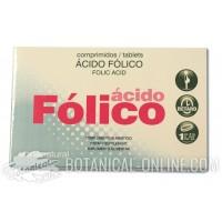 Suplemento de Ácido fólico comprimidos