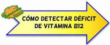 como detectar deficit vitamina b12