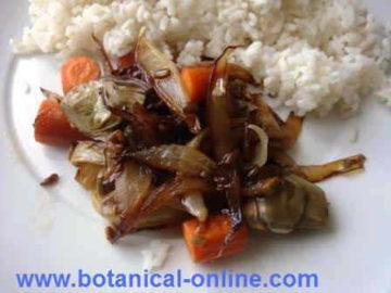 Estofado de verduras Nishime