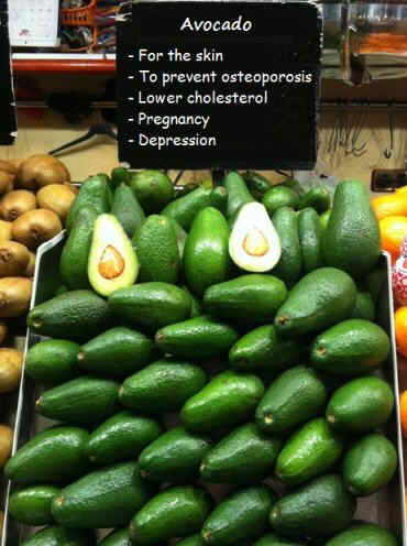 Properties of avocado