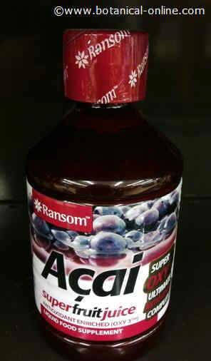 zumo de acai