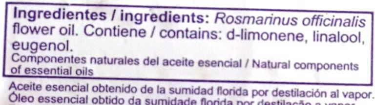 aceite esencial quimiotipado etiqueta