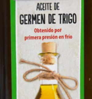 aceite germen de trigo primera presion en frio color tocoferoles