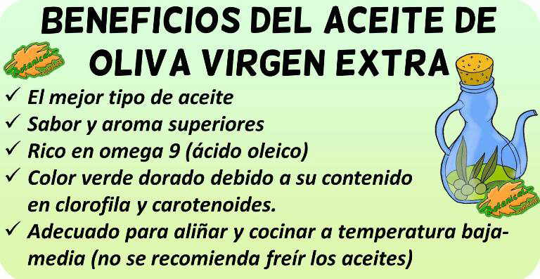 aceite oliva virgen extra propiedades