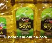Aceite de soja para mascarillas para piel normal