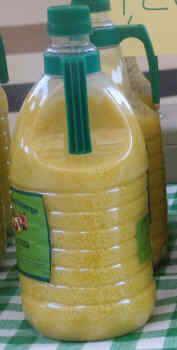 aspecto aceite de oliva frio