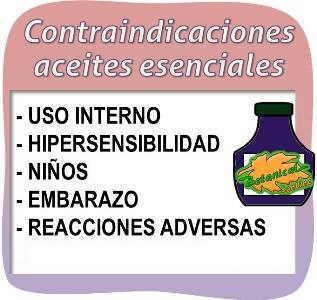 contraindicaciones aceites esenciales