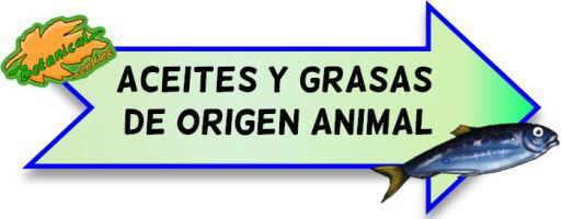 aceites y grasas de origen animal