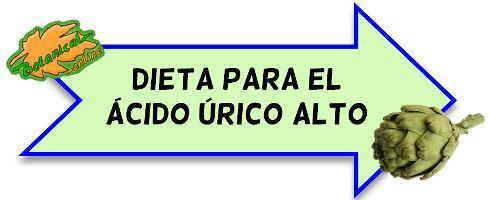 dieta acido urico