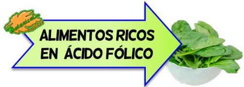 alimentos ricos en acido folico