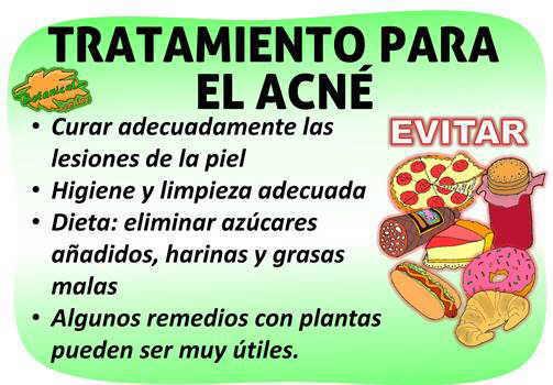 tratamiento natural del acné