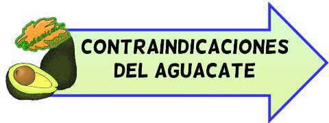 contraindicaciones del aguacate