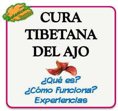 cura tibetana del ajo esperiencias