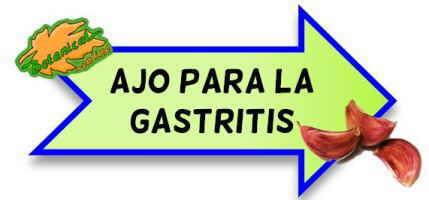 contraindicaciones del ajo para la gastritis
