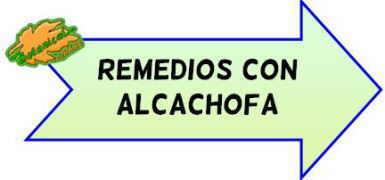 remedios con alcachofas