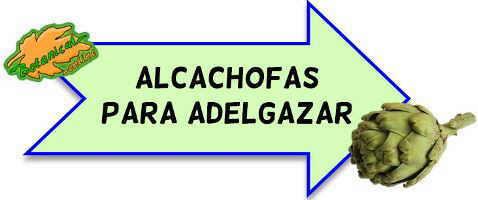 alcachofas para adelgazar