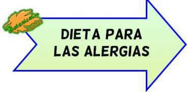 dieta alergia