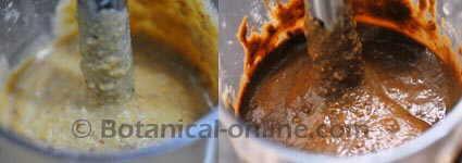 receta de crema algarroba casera